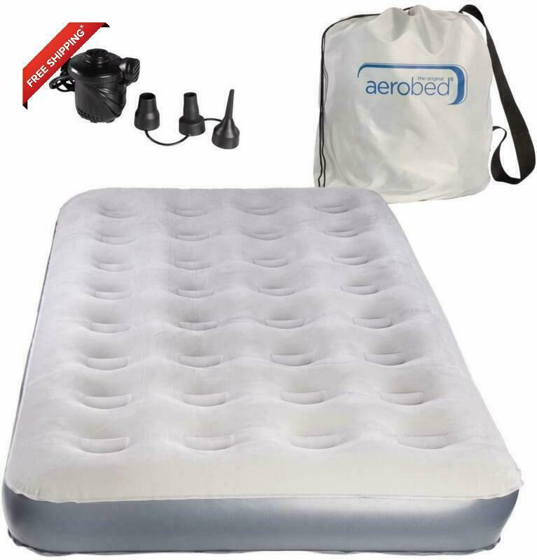AeroBed Extra Bed Twin Air Mattress with Pump and Storage Ba