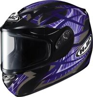 HJC CS-R2 SN STORM Helmet(MC-11)Purple/Casque de moto Violet