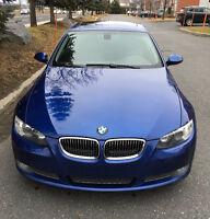 BMW 335i Coupe SPORT ET PREMIUM PACK, MONTEGO BLUE