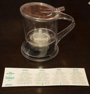 "David's Tea ""The Steeper"" 18oz Tea Steeper"