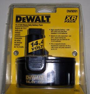 New DeWALT 14.4 Volt XR Battery Packs & Charger