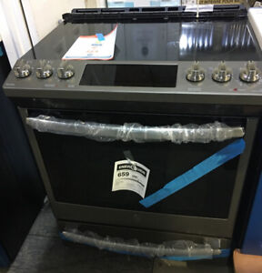 30: SS slide in electric smooth top Stove $1699 GE Profile kitch