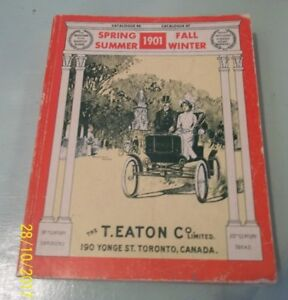 T. Eaton Company Canada 1901 Catalogue Reprint