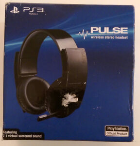 Sony PlayStation Wireless Stereo Headset -AS IS