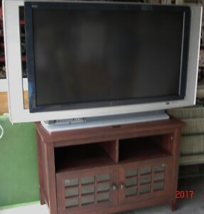 50 inch Sony Wega SXRD T.V. with stand
