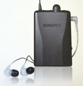 Sure IEM's CL115 with Shure Belt Pack / NOS / in Fact Box.