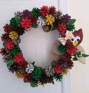 Pine cone wreaths Peterborough Peterborough Area image 4