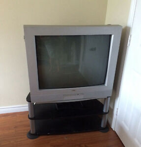 Tv and stand for pickup- 50$ total