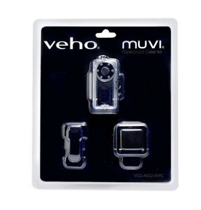NEW in package Veho VCC-A002-WPC MUVI Waterproof Case