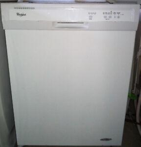 WHIRLPOOL WHITE DISHWASHER FOR SALE!