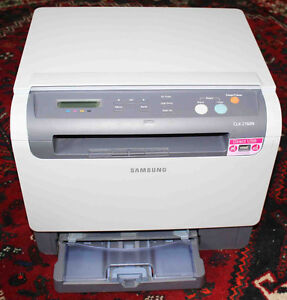 3 SAMSUNG LASER Color Printers/Copier + 9 and 25 NEW Toners