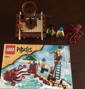 Lego Pirates Kraken Attackin' (6240)