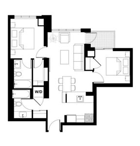 2 Bed 2 Bath apartment in Etobicoke, close to everything...