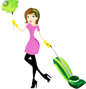Cleaning lady job