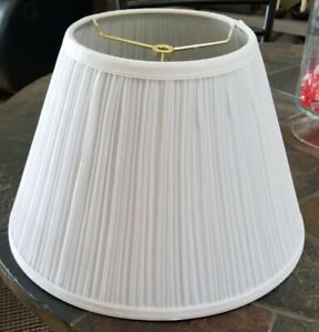 White Lamp Shade Size Medium