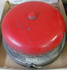 Large GAMEWELL Fire Alarm Bell