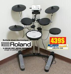 Batterie drum électronique ! ROLAND HD1 V-DRUM Mesh snd