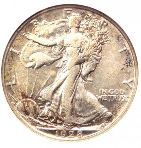 1928-S Walking Liberty Half Dollar 50C - ANACS XF40 Details (EF40) - Rare Date!