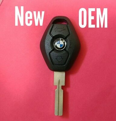 New OEM BMW Remote Head Key Keyless LX8 FZV - Please Read Description