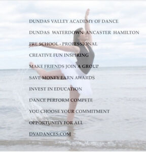 DUNDAS/ANCASTER/WATERDOWN DANCE LESSONS ALL AGES