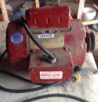 LEESON 3/4 hp motor