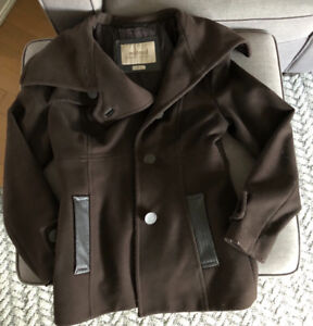 Aritzia wilfred cashmere and wool jacket