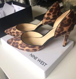 Nine west leopard fur effect high heels bought from house of Fraser