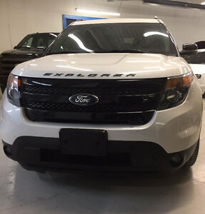 2014 Ford Explorer Sport 4X4 Ecoboost with winter tires