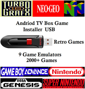 Amazon Fire TV Retro Game USB Installer 9 Emulators & 2000 Games