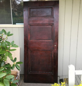 Wooden Mahogany Door