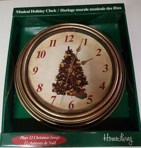 Musical Christmas Clock