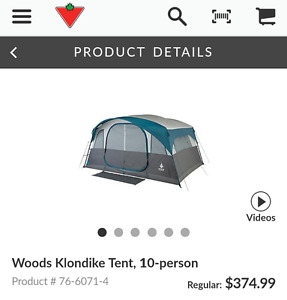10 person tent London Ontario image 3
