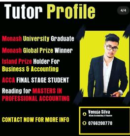 Professional Tutor O/L ,A/L GCE Cambridge / Edexel