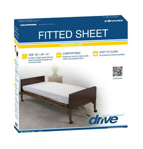 Hospital Bed Fitted Sheets 2/box