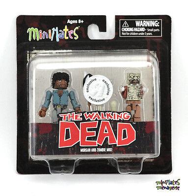 Walking Dead Minimates Tru Spielsachen R Us Welle 2 Morgan & Zombie Mike (Walking Dead Sachen)