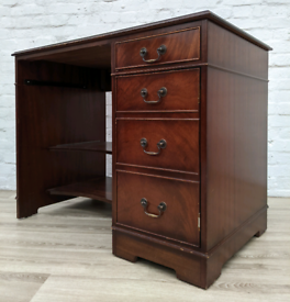 Desk With Leather Insert (DELIVERY AVAILABLE)