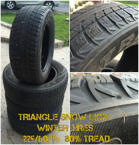 Triangle Snow Lion Winter Tires - 225/60/16