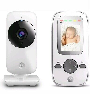 "Motorola MBP481 Video Baby Monitor with 2"" Handheld Parent Unit / Infared"