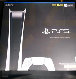 Playstation 5 digital edition news sealed Inc receipt
