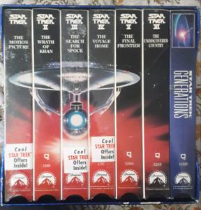 Star Trek VHS boxset