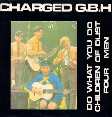 """Charged GBH(12"""" Vinyl P/S)Do What You Do-Clay-12 CLAY 36-UK-1990-VG/Ex+"""
