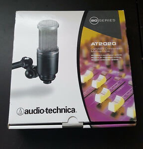 !! AUDIO TECHNICA AT2020 CONDENSER MICROPHONE