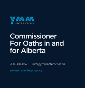 Commissioner for Oaths Services, Fort McMurray