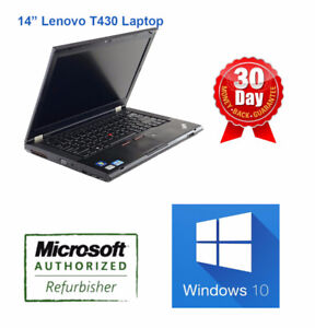 "Lenovo Laptops DEALS from $237, 12"" 14"" 15"" T410 T510 T430 T520"