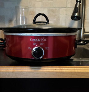 New 2.5qt Crock Pot