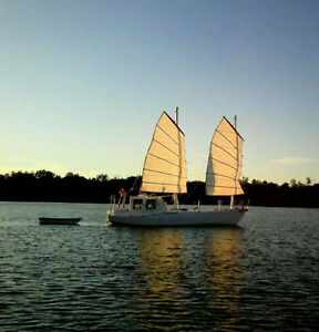 Sailboat Custom Built Roberts Design