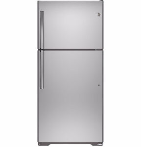 GE Profile Stainless Steel Refrigerator in EXCELLENT Condition