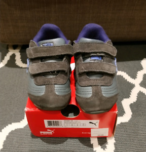 Toddler light-up Puma shoes size 8