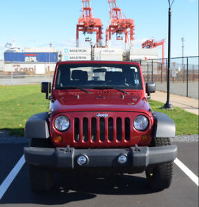 2011 Jeep Wrangler Sport--Great condition, low kilometres