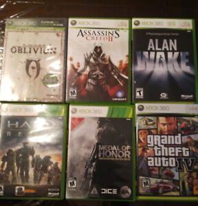XBOX360 Games for sale - 10$ each